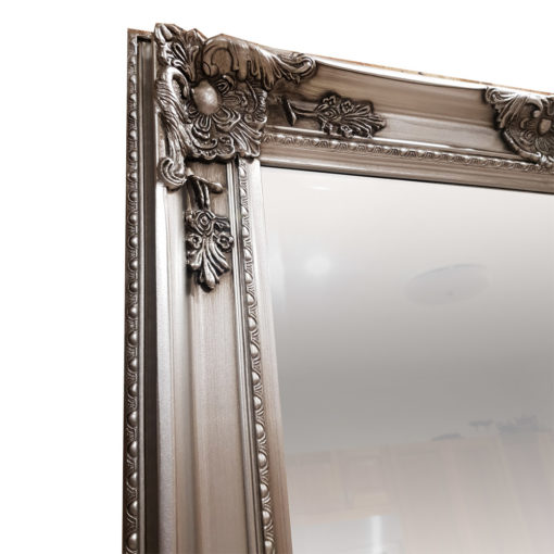 Taylor Silver Ornate Wall Mirror