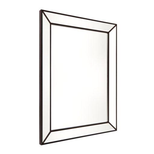 Zanthia Black Beaded Wall Mirror 90cm x 120cm