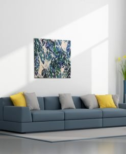 Abstract-Leaf-Canvas-Wall-Art