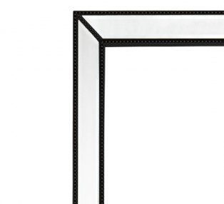 Zanthia Cheval Mirror with Stand - Black_40401_Frame
