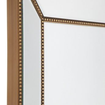 Zanthia Cheval Mirror with Stand -Gold_40402_SideFrame