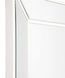 Zanthia Cheval Mirror with Stand - White_40400_SideFrame