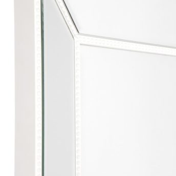 Zanthia Cheval Mirror with Stand - White_40400_SideFrame