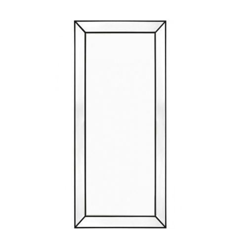 Zanthia Floor Mirror -Black_40398_Front