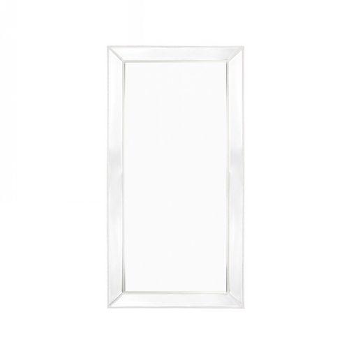 Zanthia Floor Mirror-White_40397_Front