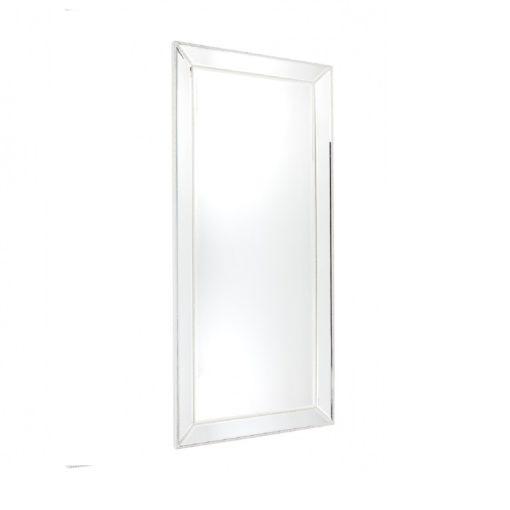 Zanthia Floor Mirror-White_40397_Side