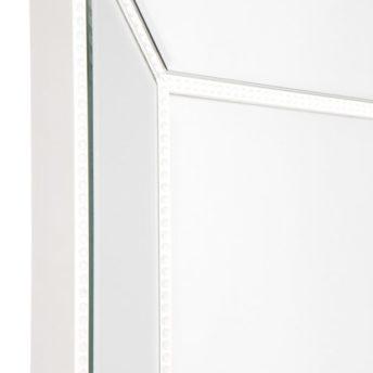 Zanthia Floor Mirror-White_40397_SideFrame