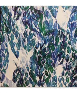 Framed Abstract Leaf Canvas Wall Art