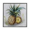 Framed Pineapple Canvas Wall Art 60cm