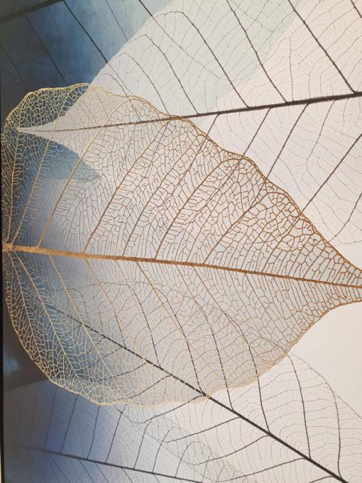 Framed Leaf Canvas