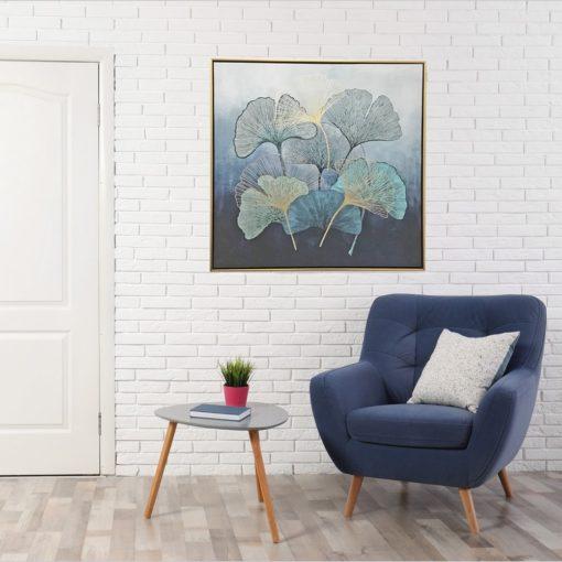Framed-Flower-Petals-Canvas-Wall-Art-80cm