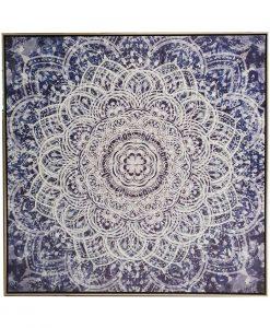 Framed Mandala Canvas Wall Art