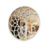 Florabelle Mirrored Wall Art 58cm Set of 2