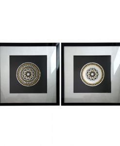Mosaic Framed Wall Art