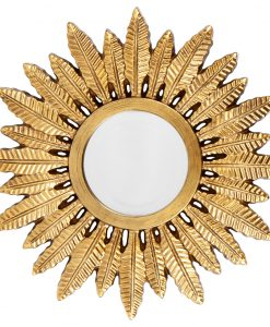 Gold Rowan Mirror