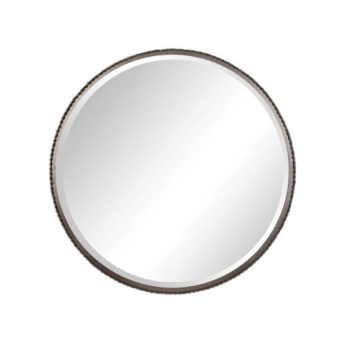 Contemporary-Ada-Round-Mirror-by-Uttermost-100cm