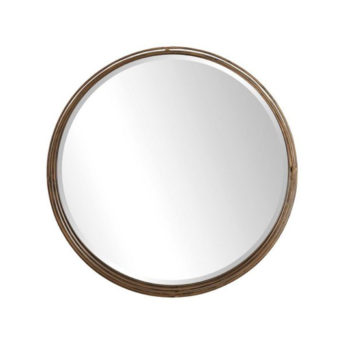 Contemporary-Cannon-Round-Mirror-by-Uttermost-91cm