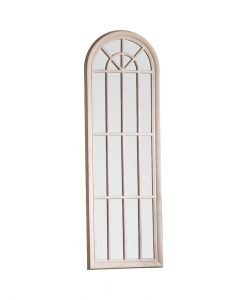 curva arched window Mirror Antique White 1800x35x600mm