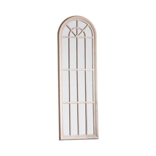 curva arched window Mirror Antique White 1800x35x600mm