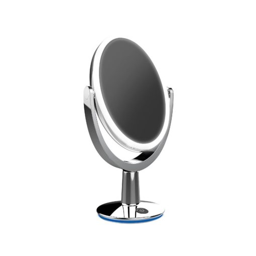 Lumiere 5x Magnifying Makeup Mirror with LED – Chrome or White 23cm