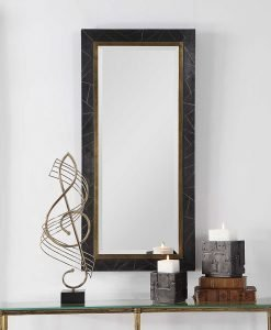 Contemporary Eliah Mirror by Uttermost 56cm x 116cm