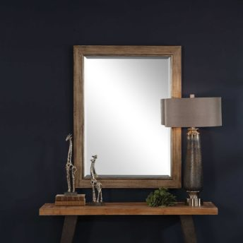 Antique Walt Mirror by Uttermost 90cm x 120cm