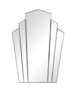 Art Deco Inez Frameless Mirror by Uttermost 81cm x 114cm