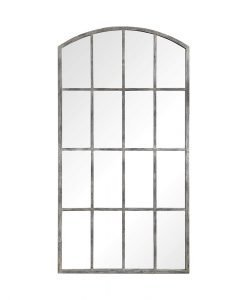 Contemporary Amiel Ivory Mirror by Uttermost 107cm x 208cm