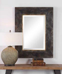 Contemporary Amparo Mirror by Uttermost 75cm x 100cm