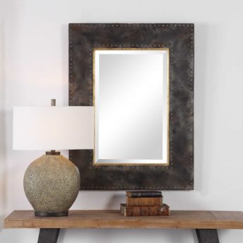 Contemporary Amparo Mirror by Uttermost 75cm x 100cm