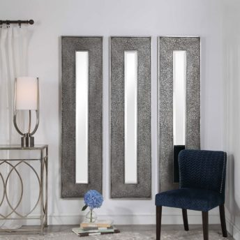 Contemporary Bannon Mirror by Uttermost 48cm x 185cm
