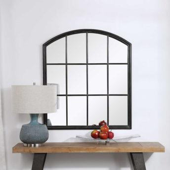Contemporary Lyda Arch Mirror by Uttermost 88cm x 101cm