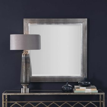 Contemporary Moore Square Mirror by Uttermost 100cm