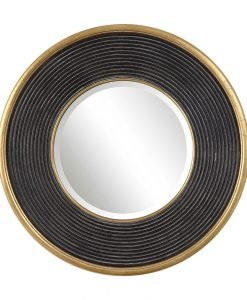 Contemporary Odyssey Round Mirror by Uttermost 90cm