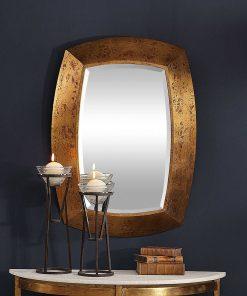 Contemporary Syrah Mirror by Uttermost 71cm x 96cm