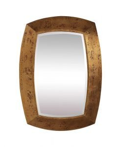 Contemporary Syrah Mirror by Uttermost 71cm x 96cm