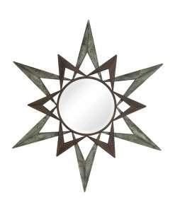 Decorative Amary Round Mirror by Uttermost 76cm