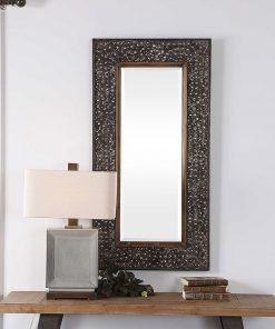 Decorative Lucia Mirror by Uttermost 63cm x 124cm