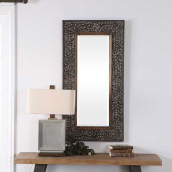 Decorative Lucia Mirror by Uttermost 63cm x 124cm