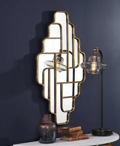 Decorative Vada Mirror by Uttermost 53cm x 91cm
