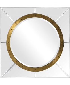 Contemporary Maya Square Mirror by Uttermost 78cm