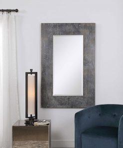 Oversize Rustic Jarrell Mirror by Uttermost 91cm x 142cm