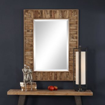 Rustic Nalani Mirror by Uttermost 96cm x 127cm