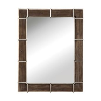 Rustic Wade Mirror by Uttermost 94cm x 124cm