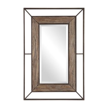 Rustic Ward Mirror by Uttermost 80cm x 119cm