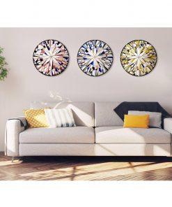 """Forever Series"" Handmade Mosaic Mirrored Wall Art by Mirror Envy"