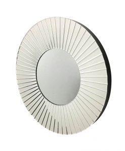 Rhianna Round Art Deco Mirror 80cm