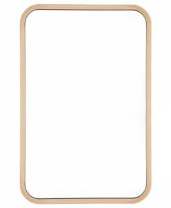 Scandi Curved Corner Mirror 40cm x 60cm