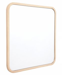 Curved Corner Mirror