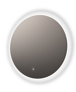 Bring in a touch of elegance to your bathroom with the Aurora Round Backlit Mirror with Demister.